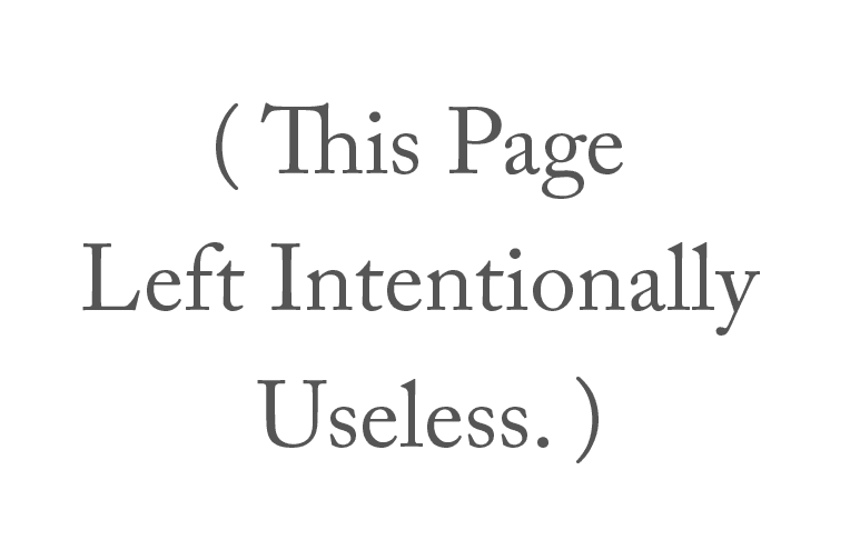 This Page Left Intentionally Useless  – Page 2 – A blog about things